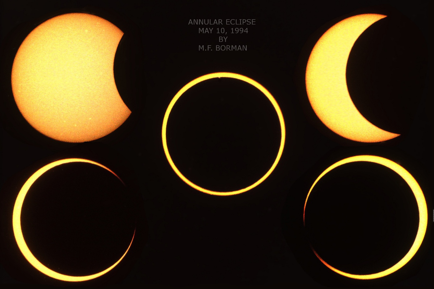 Annular Solar Eclipse 05/10/1994