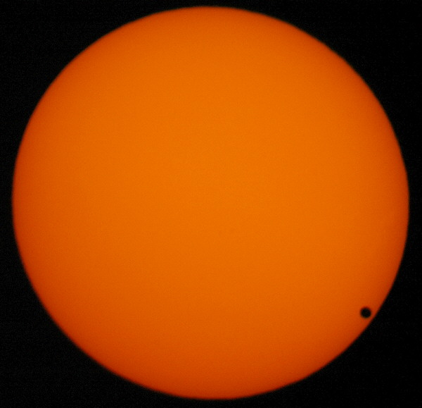 The Transit Of Venus Across The Sun, June 8, 2004